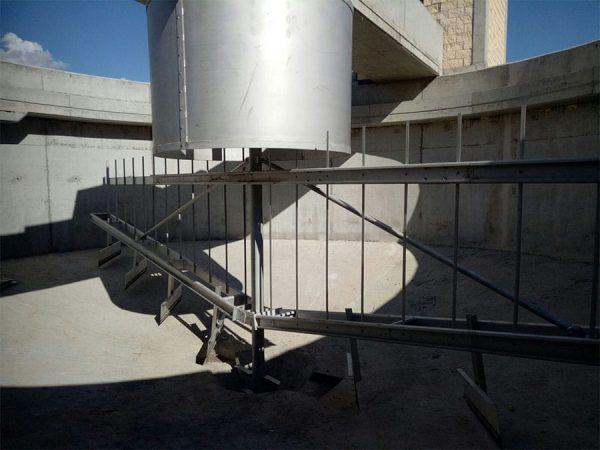 DEYE11 - Espesador de fangos - EDAR Utebo