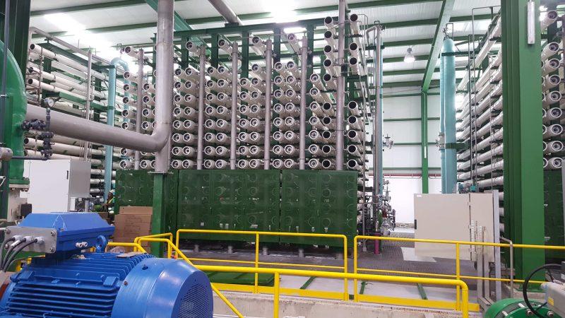 DEYI02 - Instalaciones industriales - Bastidores de ósmosis - IDAM Jorf Lasfar - (8)
